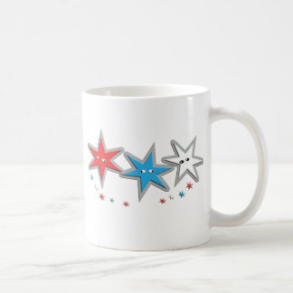 Starry Looks - A Patriotic Trio Mugs
