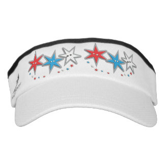 Starry Looks - A Patriotic Trio x 2 Headsweats Visor