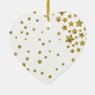 Starry Magic - White Christmas Ornament