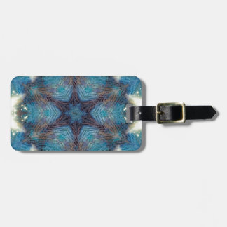Starry Mandala Luggage Tag