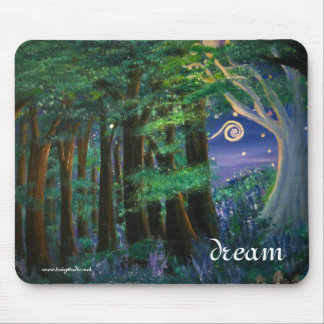 Starry Meadow at the End of the Forest Mouse Pad