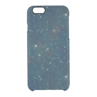 Starry Midnight Blue Sky Transparent Clear Uncommon Clearly™ Deflector iPhone 6 Case