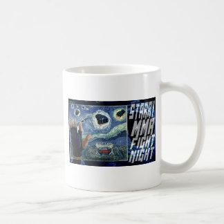 Starry MMA Fight Night Classic White Coffee Mug