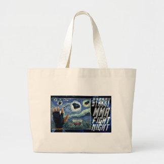 Starry MMA Fight Night Jumbo Tote Bag