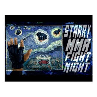 Starry MMA Fight Night Postcard