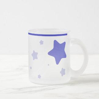 Starry Mug with Collar - Blue