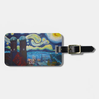 Starry Munich With Oktoberfest Bag Tag