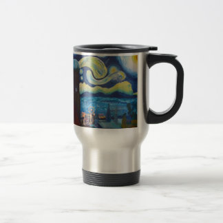 Starry Munich With Oktoberfest Travel Mug