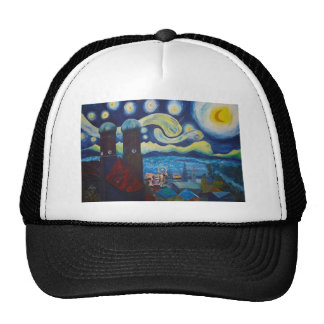 Starry Munich With Oktoberfest Trucker Hat