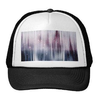 Starry Nebula Glitter Trucker Hat