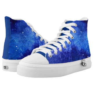 Starry Nght High-Top Sneakers