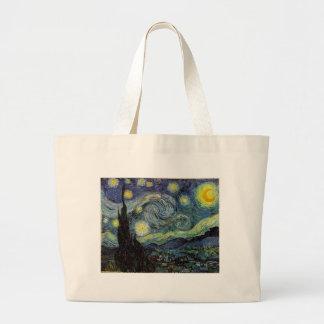 starry night,1889,Vincent van Gogh Canvas Bag
