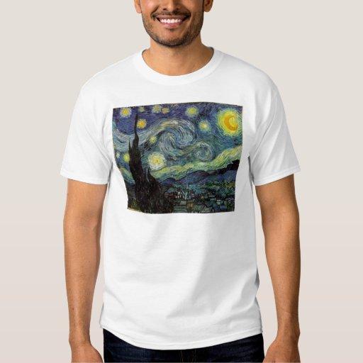starry night,1889,Vincent van Gogh Tee Shirts