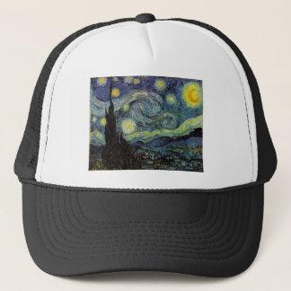 starry night,1889,Vincent van Gogh Trucker Hat