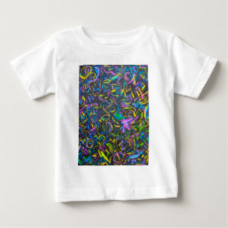 Starry Night-Abstract Art Brushstrokes Baby T-Shirt