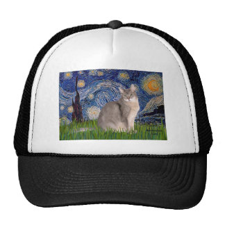 Starry Night - Abyssinian (blue 21) Mesh Hat