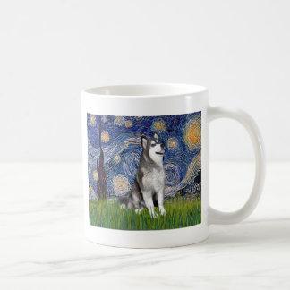 Starry Night - Alaskan Malamute Coffee Mug