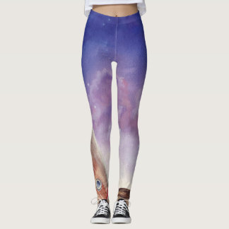 Starry Night All Over Leggings