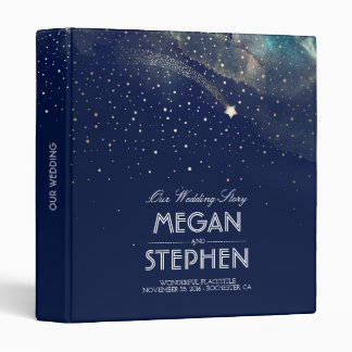 Starry Night and Shooting Star Special Occasion Binder