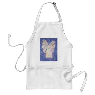 Starry Night Angel Adult Apron