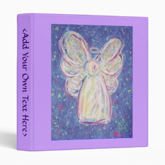 Starry Night Angel Binder