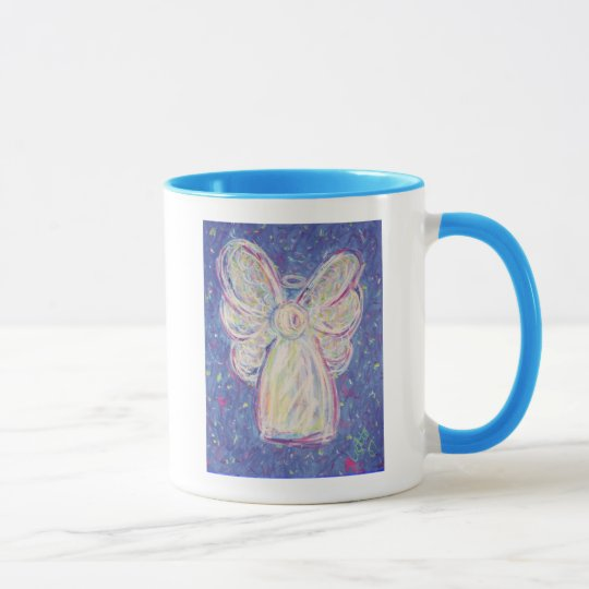 Starry Night Angel - Coffee Mug