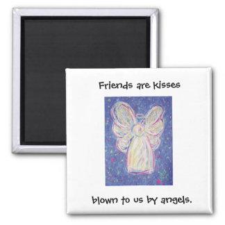 Starry Night Angel - Friends Magnet