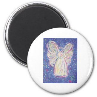 Starry Night Angel Magnet