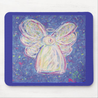 Starry Night Angel Mousepad