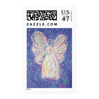 Starry Night Angel Postage