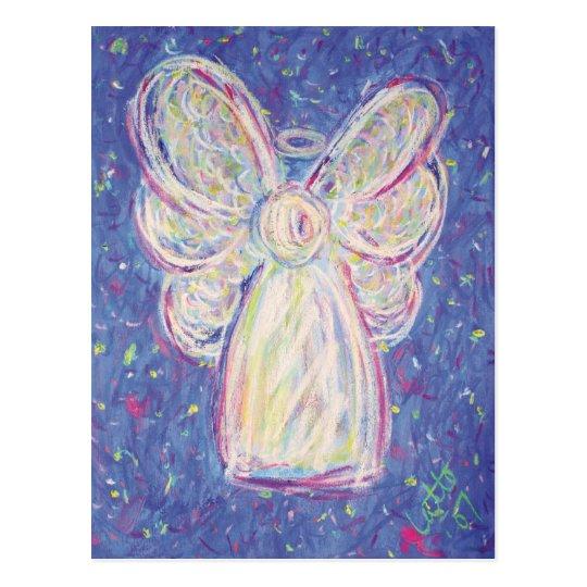 Starry Night Angel Postcard