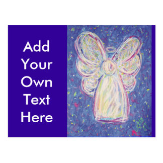 Starry Night Angel Postcard