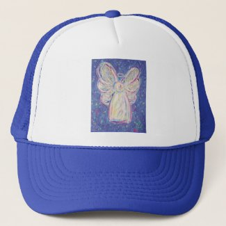 Starry Night Angel Trucker Hat