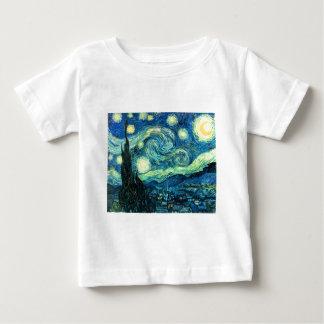 Starry Night art Baby T-Shirt