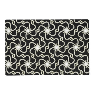 Starry Night Art Deco Star Pattern Placemat