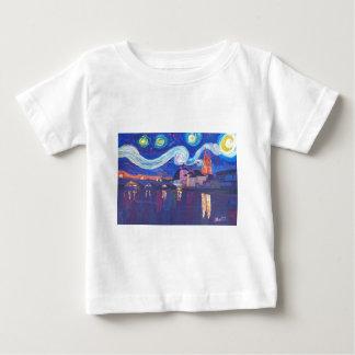Starry night at Regensburg Baby T-Shirt
