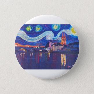Starry night at Regensburg Button