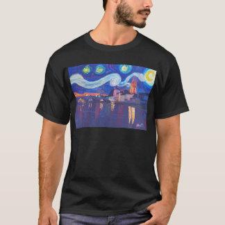 Starry night at Regensburg T-Shirt