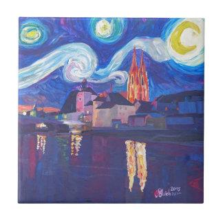 Starry night at Regensburg Tile