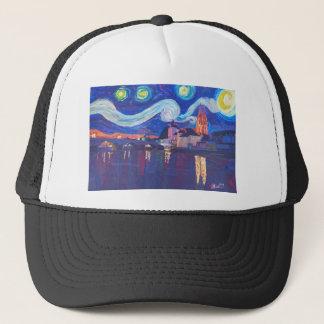 Starry night at Regensburg Trucker Hat