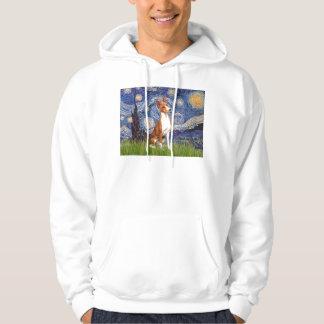 Starry Night - Basenji Sweatshirt