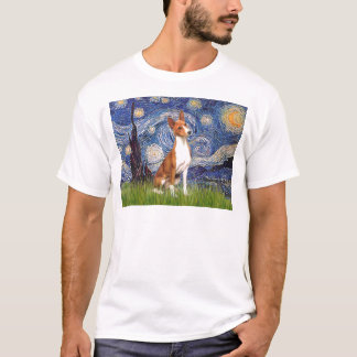 Starry Night - Basenji T-Shirt