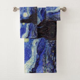 Starry Night Bath Towel Set