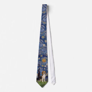 Starry Night - Beagle Tie