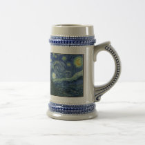 Starry Night Beer Stein