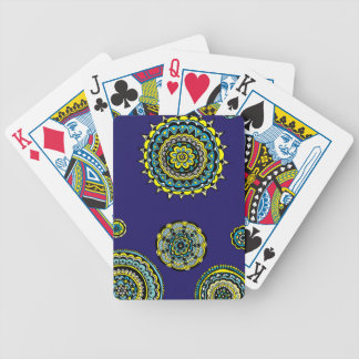Starry Night Bicycle Playing Cards