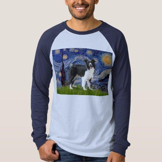 Starry Night - Border Collie (Z) T-Shirt