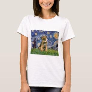Starry Night - Border Terrier #1 T-Shirt