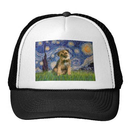 Starry Night - Border Terrier #1 Trucker Hat