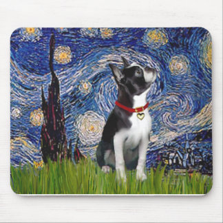 Starry Night - Boston T (2rc) Mouse Pad